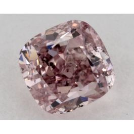 1.01 Carat, Natural Fancy Pink, Cushion Shape, SI2 Clarity, GIA
