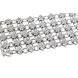 4.80 carat Diamond Bracelet and 51.10gr. 18K Gold