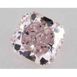 0.95 carat, Fancy Purplish Pink Diamond, VVS1 clarity, Radiant shape, GIA