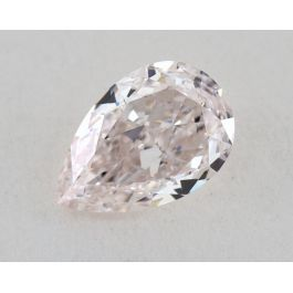 0.75 carat, Very Light Pink, IF clarity, Pear Shape, GIA