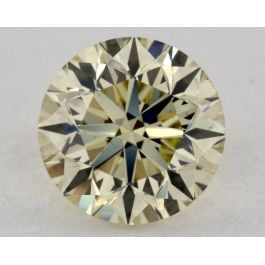 1.00 Carat, Natural Fancy Light Brownish Greenish Yellow, VS2 Clarity, GIA