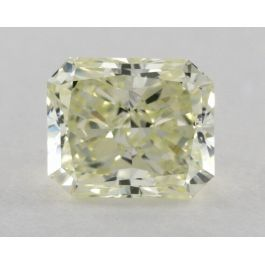 0.81 Carat. Fancy Yellow-Green, VS1 Clarity, Radiant, GIA