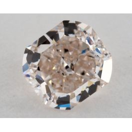 0.86 Carat, Light Brown-Pink, IF Clarity, Cushion, GIA