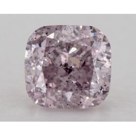 1.02 Carat, Fancy Pink-Purple, SI2 Clarity, Cushion, GIA