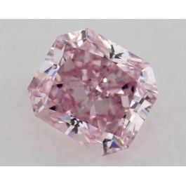 0.58 Carat, Natural Fancy Intense Purple-Pink, SI1 Clarity, Radiant, GIA