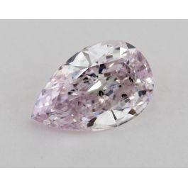 1.01 Carat, Fancy Light Pinkish Purple, Pear, SI1 Clarity, GIA