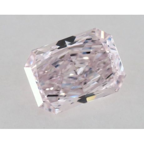 0.41 Carat, Natural Fancy Light Pink-Purple, Radiant Shape, VS2 Clarity, GIA