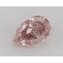1.00 Carat, Natural Fancy Pink, SI2, Pear shape, GIA