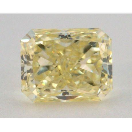 1.01 Carat, Natural Fancy Yellow, Radiant Shape, VVS2 Clarity, GIA