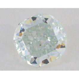 0.85 carat, Natural Light Blue, Cushion Shape, VS1 Clarity, GIA