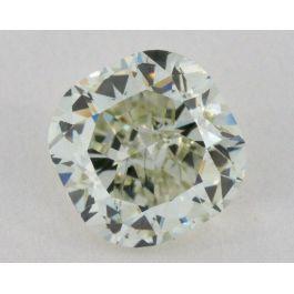 1.72 carat, Natural Fancy Grayish Yellowish Green, Cushion Shape, SI1 Clarity, GIA