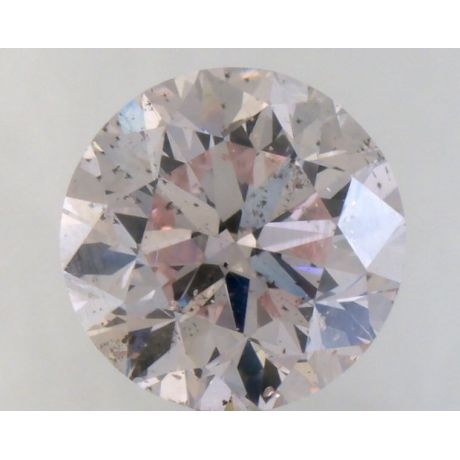1.01 Carat, Natural Fancy Light Pink, Round Shape, SI2 Clarity, GIA