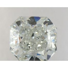 1.29 Carat, Natural Light Green, Radiant Shape, VS2 Clarity, GIA