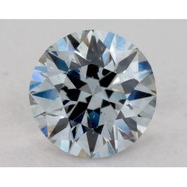 0.76 carat, Natural Fancy Gray-Blue, Round Shape, VS2, GIA