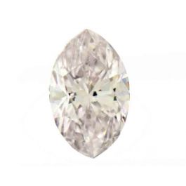 0.20 Carat, Natural Faint Pink, Marquise Shape, SI1 Clarity, IGI