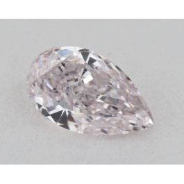 0.43 Carat, Natural Light Pink, Pear Shape, I1 Clarity, GIA