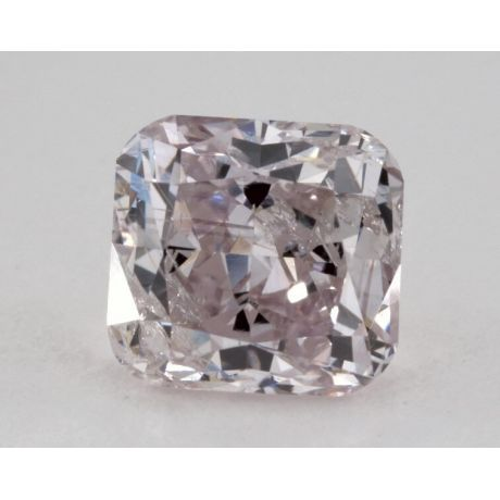 1.02 Carat, Natural Fancy Purple-Pink, Cushion Shape, I2 Clarity, GIA