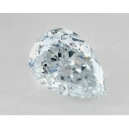 1.52 Carat, Natural Light Blue, Pear Shape, IF, GIA