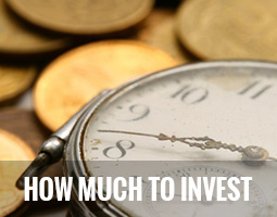 Knowing How Much To Invest